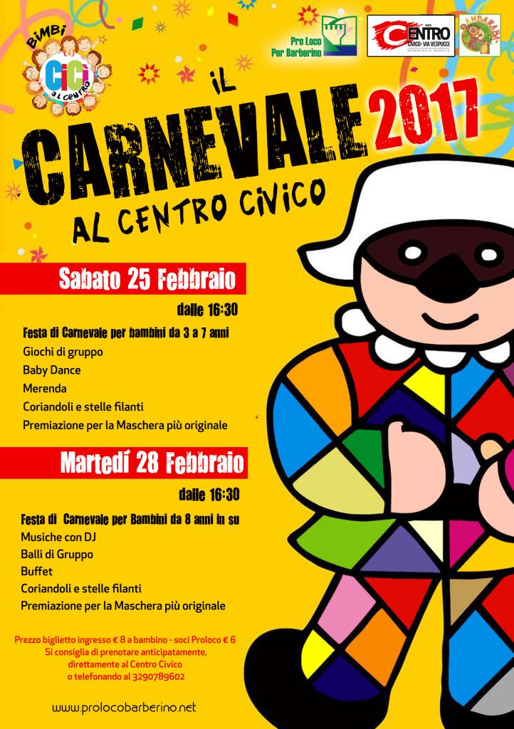carnevale 2017 Centro Civico